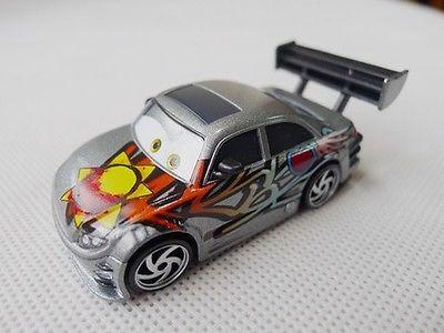 Pixar Cars Toon 1:55 Manji Metal Toy Car Loose(China (Mainland))