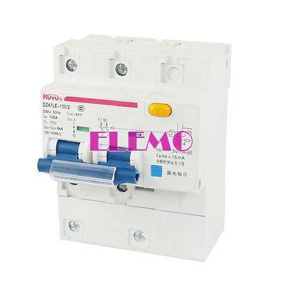 DZ47-100 100 Amp 4000V AC 6000A Capacidade de Interrupção 3 Poles Circuit Breaker(China (Mainland))