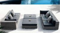 ODSF007 New style European outdoor beach villa high-grade furniture pool furniture sofa leisure outdoor rattan sofa