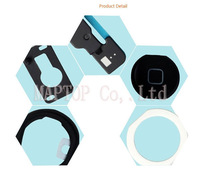 Free Shipping Original New Repair Parts 5 in 1 Repair Part Kit for iPad Air (black Home Button  + Front Camera Holder ect)