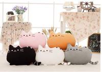 Free shipping 40CM Novelty item soft plush stuffed animal doll anime toy pusheen cat for girl kid;kawaii,cute cushion brinquedos