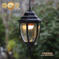 10W LED Included 110V/220V Available Europe Style Outdoor balcony lamp fashion garden aisle lights dome lamp led pendant light