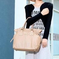 braccialini bag 2014 women's handbag vintage genuine leather handbag one shoulder bags totty cowhide female