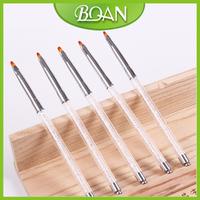10 Pcs 6# BQAN Brand New Design Diamond Gel Brush with Top Quality Round Nylon Hair UV Gel Pen Free Shipping
