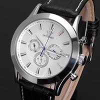 New OUYAWEI Date White Day Automatic Mens Mechanical Self Winding Rubber Wrist Watch W105