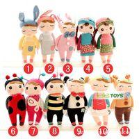 High Quality Metoo Dolls Large size Angela Girl Plush Toys for Children girlfriend boyfriend Birthday Gifts, 30cm