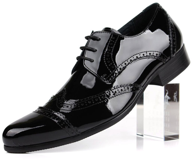 get cheap shiny black dress shoes aliexpress