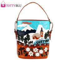 braccialini bag 2014  women's handbag bag vintage bag totty one shoulder female