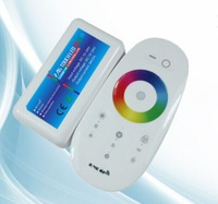 New 2.4G touch remote control RGB controller
