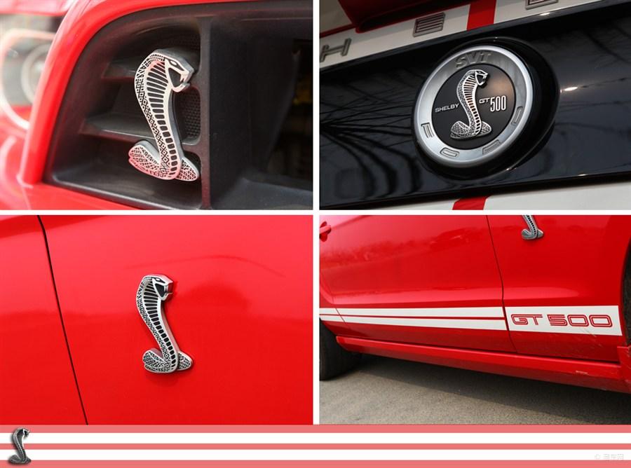 2 Metal L+R Cobra Super Snake Car Emblem side Sticker Steering wheel Decal Badge Upper Grille for Ford Mustang V6 GT GT500(China (Mainland))