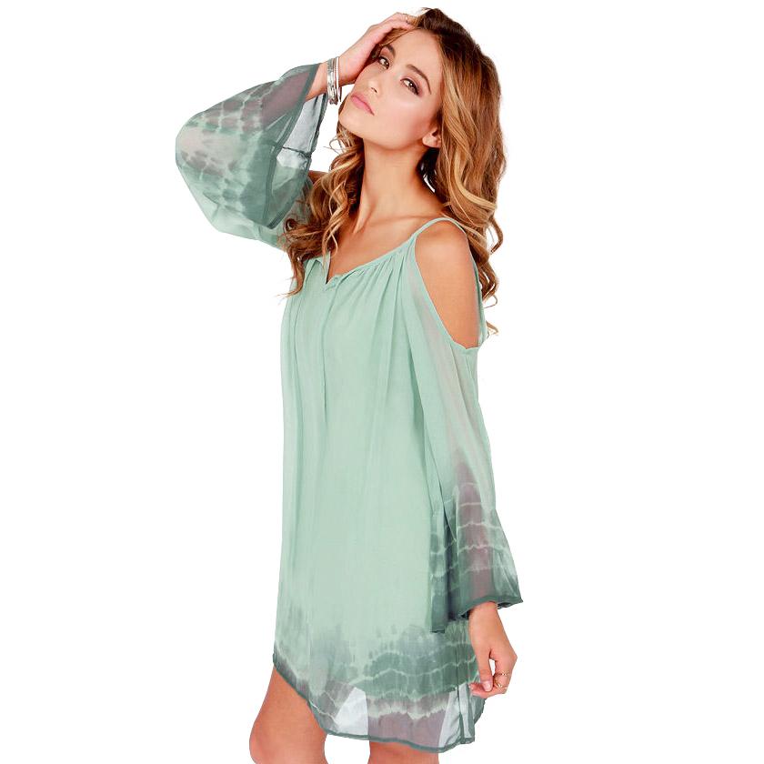 Tie Dye Dress Neon Tie Dye Casual Dress Plus