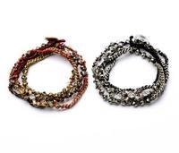 fashion bracelet for women 2014 hot selling Multi-layer winding female bracelet accessories restoring ancient ways