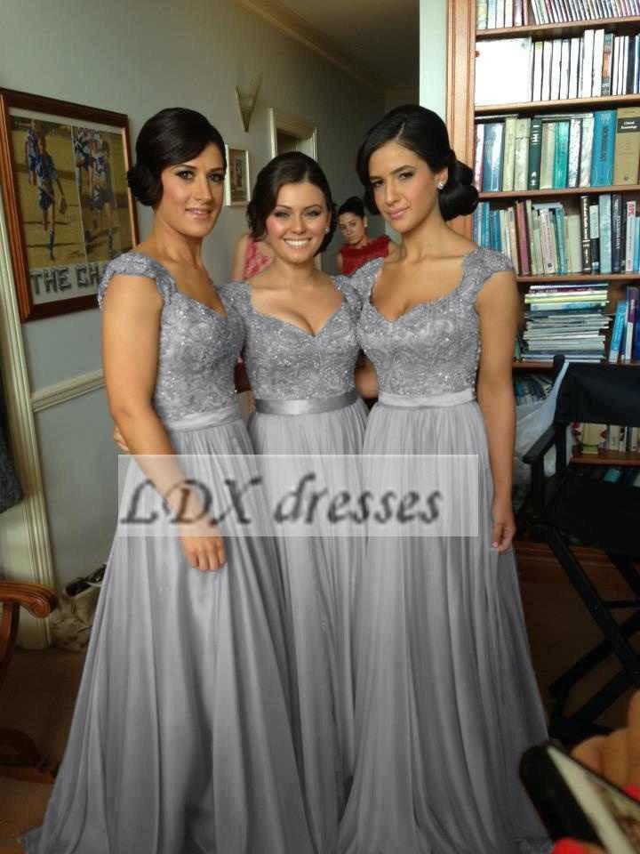 в складе платье для партии Щепка vestidos де Феста vestido Лонго Кап рукав кружева длинные платья подружки невесты