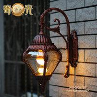 stainless steel outdoor wall lamp american style 220v garden wall light outdoor garden lights luxury waterproof street light