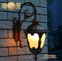Landscape Llighting Wall LED Vintage Light Wall indoor rustic outdoor dual-use waterproof aluminum fixture 5W E27 110-240V