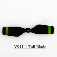 100pcs/Lot V911-06 Plastic Tail Blade Spare Part Accessory For WLtoys V911 V911-1 V911-2 4Ch Single Propeller RC Helicopter