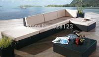 ODSF030 Hot sale Outdoor balcony l-shaped sofa leisure villa outdoor garden courtyard sitting room sofa sea beach hotel