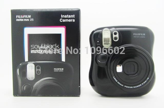 Fujifilm Instax Mini 25 Camera Instant Film Photo Black(Hong Kong)