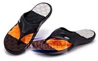 Free shipping New 2014 Summer Shoes Flat Sandals Men Flip Flops Men Fashion Eva Massage Beach Slippers 41 - 45 KM1203