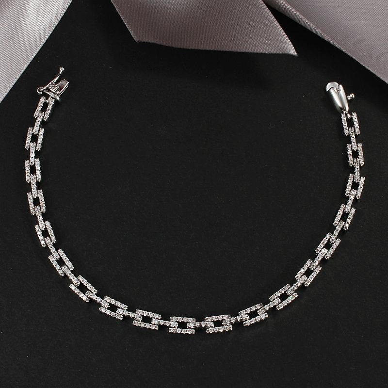 unique slap-up best selling fashion new gold plated crystal bracelet nice gift wholesale H046(China (Mainland))