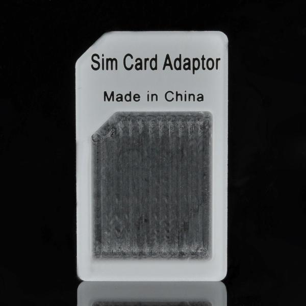Микро-sim-карты к стандартной sim карты адаптера-белый