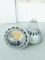 8w 50pcs/lot AC220-240V Epistar 550lm cob spotlight led GU10 Spot Bulb Lighting CRI>80 2years warranty