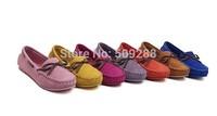 women shallow mouth bowknot  Flat shoes Grind arenaceous doug shoes Big yards size:35-40.