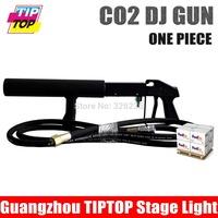 By DHL Handhold Co2 DJ Guns 1pcs/lot CO2 Column Jet Stage Effect Handheld DJ Gun Co2 Jet  DJ Equipment Co2 Gun