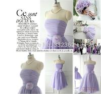 Free Shipping 2014 New Bridesmaid Uniforms Bra Short Paragraph Bridesmaid Sisters Dress Bridesmaid Dress Evening Gown  Dress