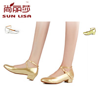 SUN LISA Latin Tango Waltz Ballroom International Standard Dance Shoes For Women and Girl Free shipping