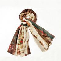 Hot Sale!2014 New Fashion Big Size Scarf for Women,Classic Gharry Pattern Shawl,Solemn and Elegant winter warm Scarf Wrap