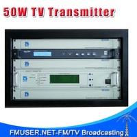 CZH518D-50W 50w DVB-T Digital TV Territorial Broadcast Transmitter for Professional TV Station