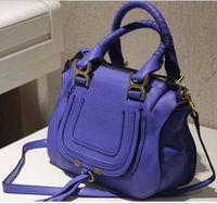 sac a main women handbag 2014 genuine leather blue handbag handbags designers brand 6 colors available,large ladies shoulder bag