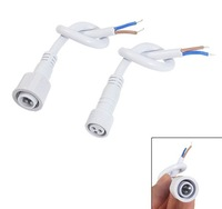 Free shipping,100pcs/lot, Water proof Single color LED strip/Tape connector, 2x15 cm Cable,Strip light Prolong using