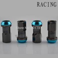 Wholesale - factory selling car project u screw racing r40 d1 WHEELS LOCK LUG NUTS ACORN RIM CLOSE END chian post freeshipping