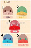 Hot selling boy baby knit caps fashion skull children hats cotton knit caps 200pcs/lot lowest price