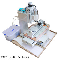 New Router CNC 3040 Ball Screw precision 5 Axis CNC Machine Table Column Type