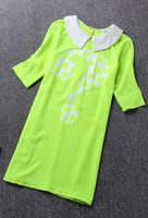free shipping/2014 new arrival/hot sale women dress/2014 summer dresses/fashion designer / wd006