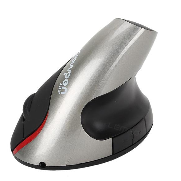 Wireless Mouse 2.4GHz Ergonomic Design WOWPEN Vertical 1600DPI JOY Wrist Pain Computer USB Mice For Laptop PC Notebook New 2014(China (Mainland))