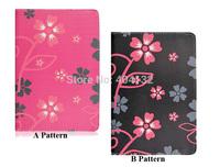 100PCS By DHL Good Quality Print Pattern Cover Stand PU Leather Case For Apple iPad Mini 2 / iPad Mini Retina