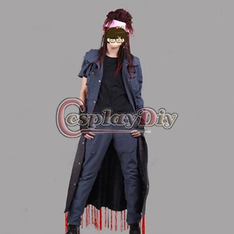 Custom Made DMMD Dramatical Murder Mink Anime Cosplay Costume Without Wig And Shoes