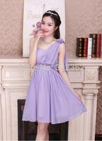 Mission Bridesmaid Dress Short Paragraph Bridesmaid Dress 2014 New Autumn Sisters Oblique Shoulder Korean Bra Evening Dress