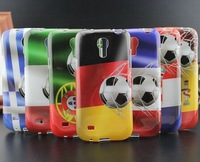 NEW!!! Country Flag Football design soft TPU case for samsung galaxy s4 mini phone cases cover for samsung galaxy s4 mini i9190
