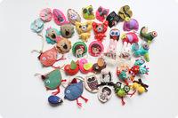 10pcs/lot wholesale princess house children ornaments baby girl accessories cartoon handicraft cloth girl brooch