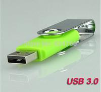 Retail Genuine 8GB USB 3.0 Pen Drive Classic Swivel USB Memory Drive Thumb Stick drop free shipping