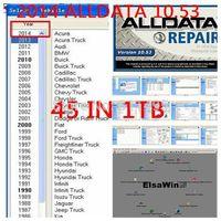 2014 alldata and mitchell 45in1 2014 alldata v10.53 + mitchell on demand 2014+ESI+ATSG+ETKA+vivid+ELSA4.1+WIS+med& heavy truck