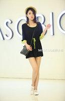 Big Size 8,10,12 Pregnant Women Cute Black Cotton Maternity Dress Free Shipping a00500