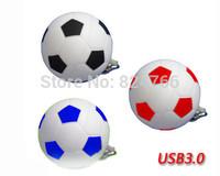 USB 3.0 Flash Drive Memory Drive Pen Drive Plastic Football 8gb 16gb 32gb 64gb free shipping