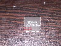 Free shipping  5PCS  W77E516P-40