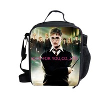 2014 Hot Sale Children Boys Food Box Harry Potter Lunch Bags for Teenager Girls,Trendy Kids Shoulder Lunchbox,Thermal Food Bag(China (Mainland))